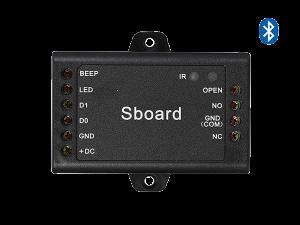 Sboard BT - mini controler - vedere frontala