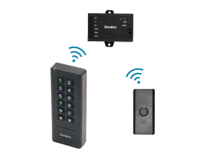 SK3 - mini sistem de control acces standalone wireless