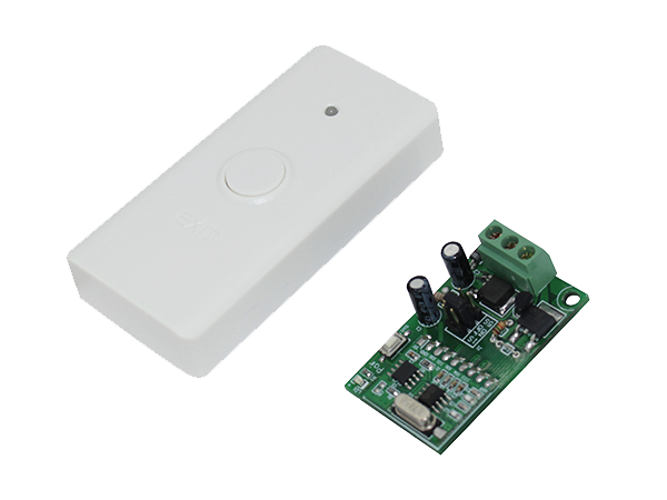 Buton cerere iesire wireless alb - 1