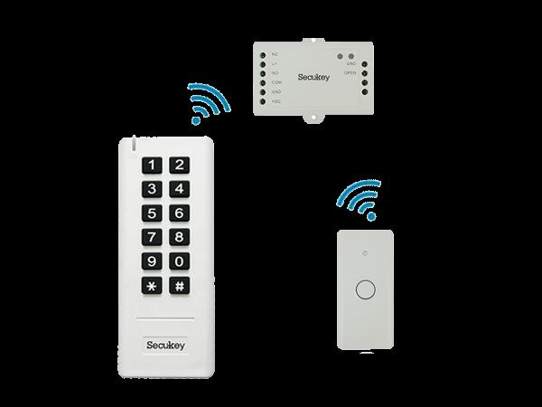 SK3 - mini sistem standalone, wireless - vedere frontala
